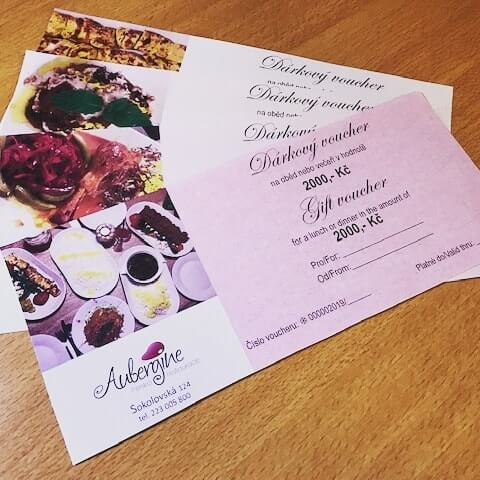 Gift vouchers on sale now