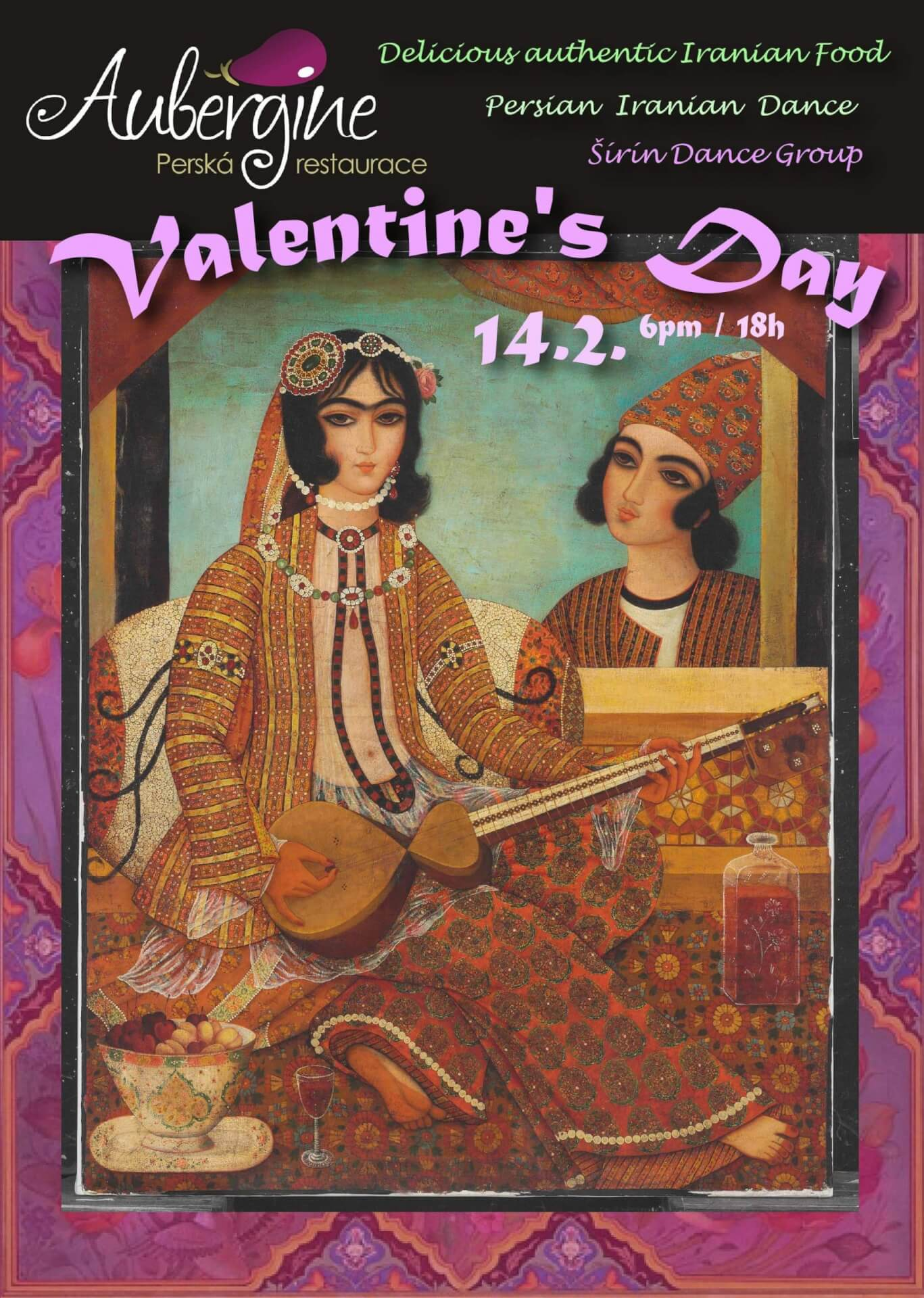 FULLY BOOKED Valentine´s evening with Persian Dance